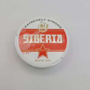 SIBERIA EXTREMELY STRONG NICOTINE POUCHES